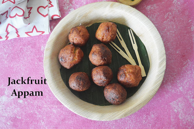 Jackfruit Appam Recipe | Instant Chakka Appam | Jackfruit Uniappam