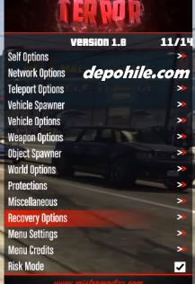 GTA 5 Online 1.50 Terror v1.8 Para Ve Level Hile Temmuz 2020