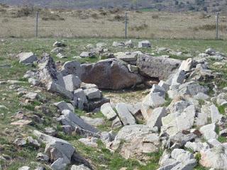 Cámara. Dolmen de El Alto de la Tejera
