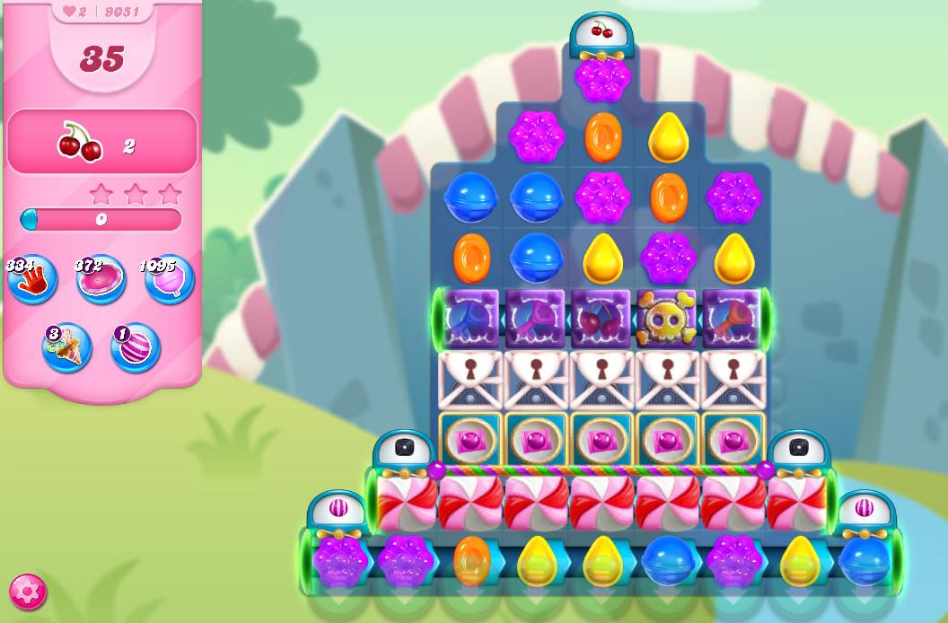 Candy Crush Saga level 9051