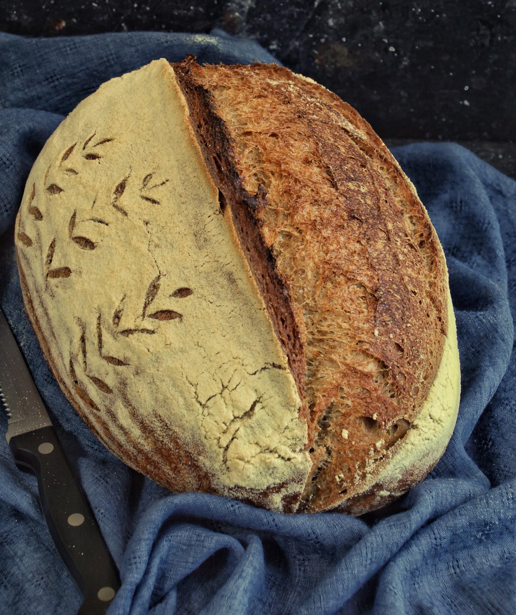 pane con farina grano arso