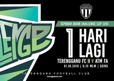 Live Streaming Terengganu FC II vs ATM Challenge Cup 1.10.2018