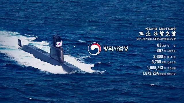 Submarino KSS-III clase Dosan Ahn Changho
