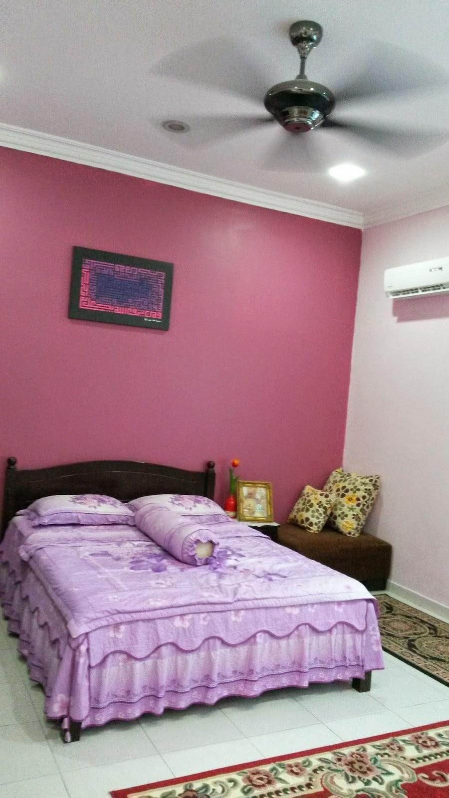 Hiasan Bilik Tidur Warna Pink  Desainrumahid.com