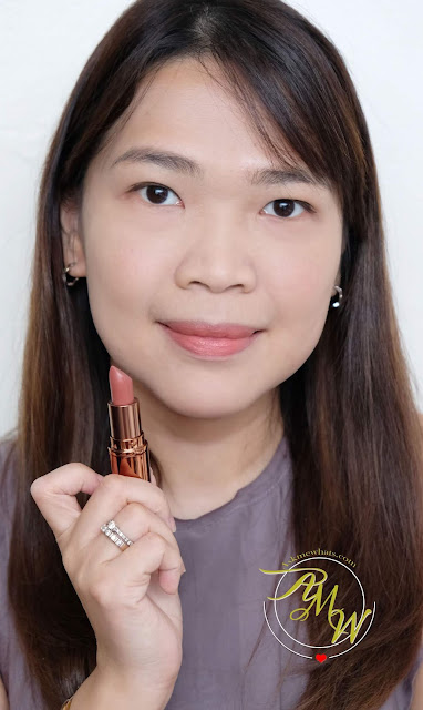 a photo of Mineral Fusion Rich Color Creme Finish Lipstick in Molten Review
