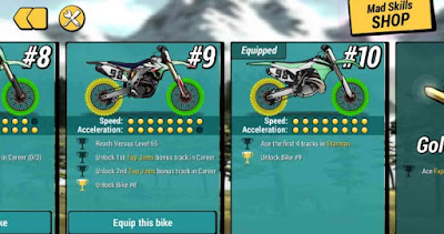 Mad Skills motocross 2 mod apk game