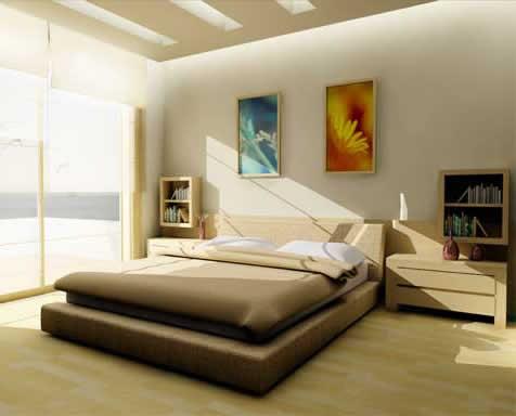 Decorations: Minimalist Design - Modern Bedroom Interior ...