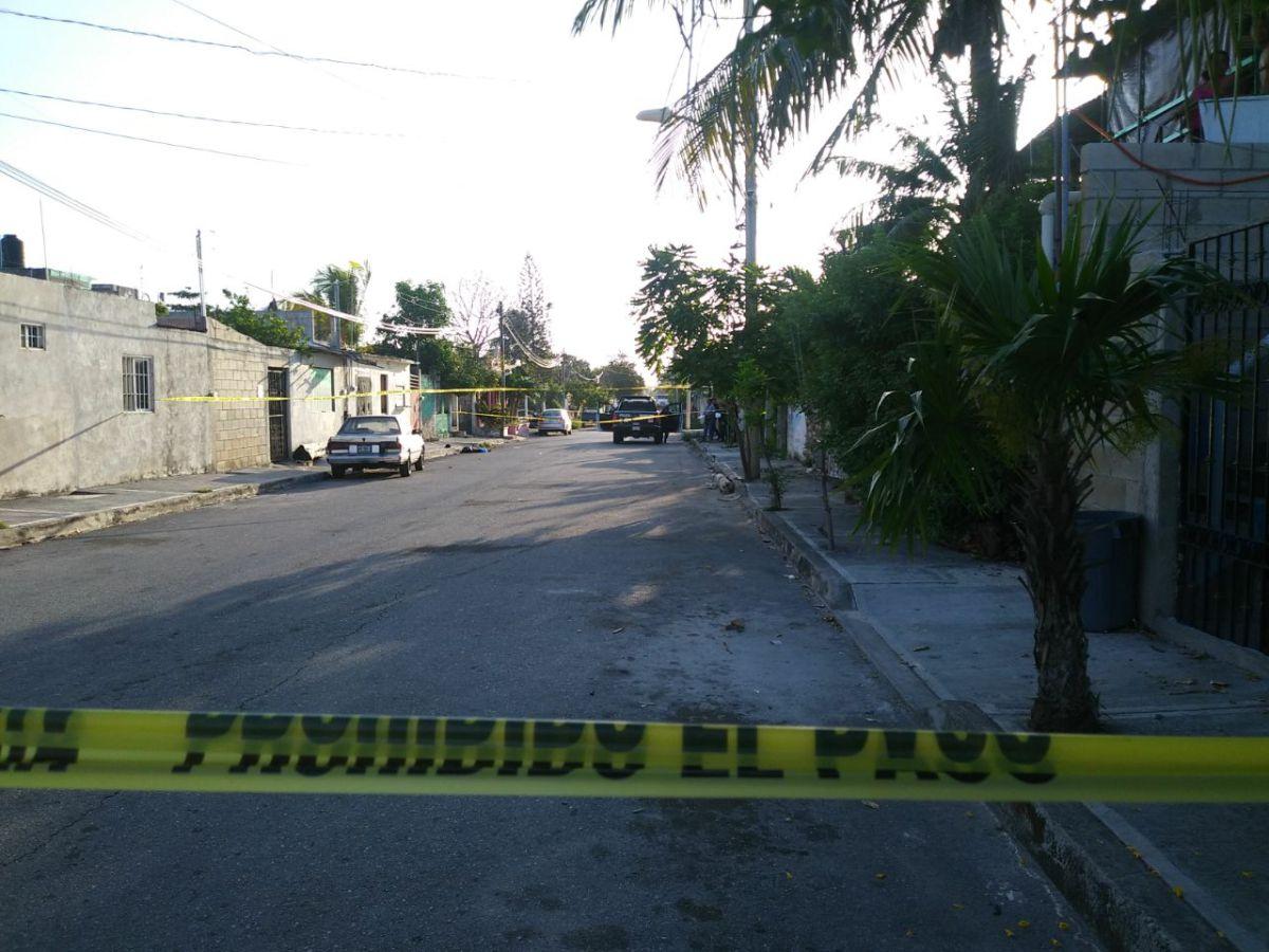 Continuan las ejecuciones en Cancún, sicarios ejecutan a joven esta mañana