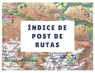 Índice de post de rutas