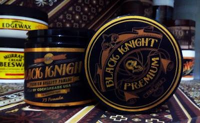 Black Knight Pomade Premium