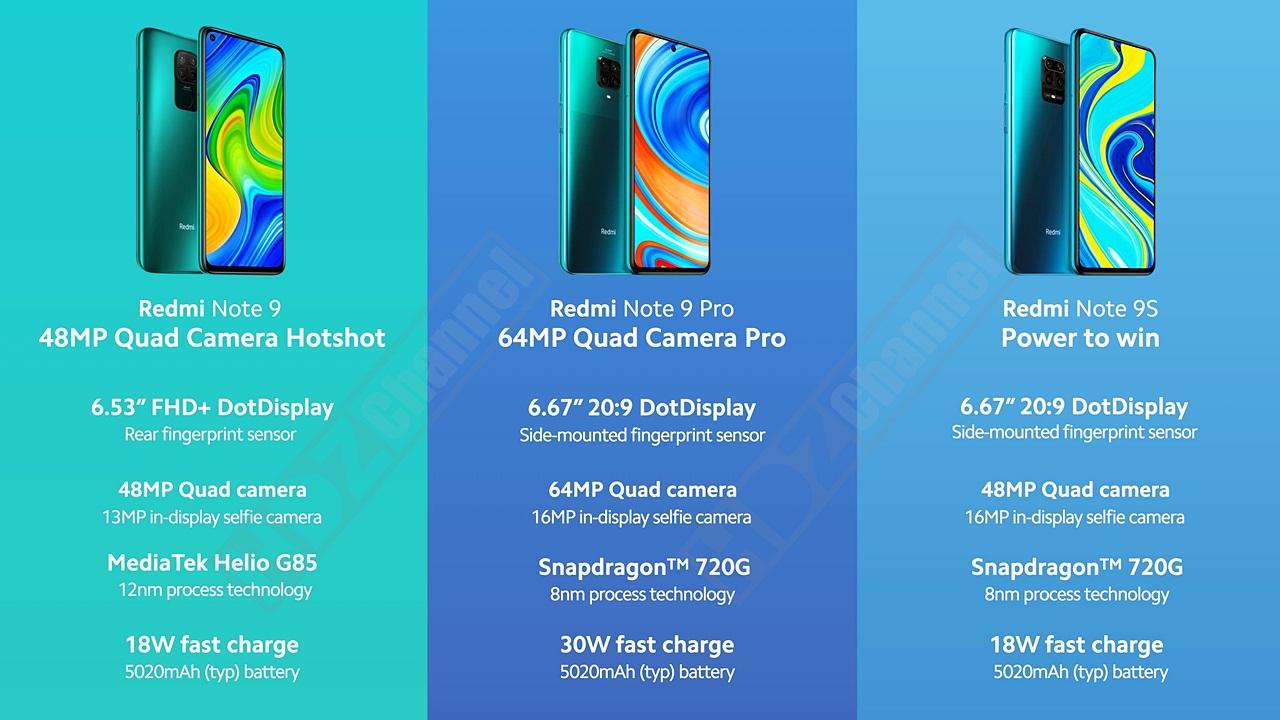 سعر ومواصفات هاتف ريدمي Note 9S في الجزائر