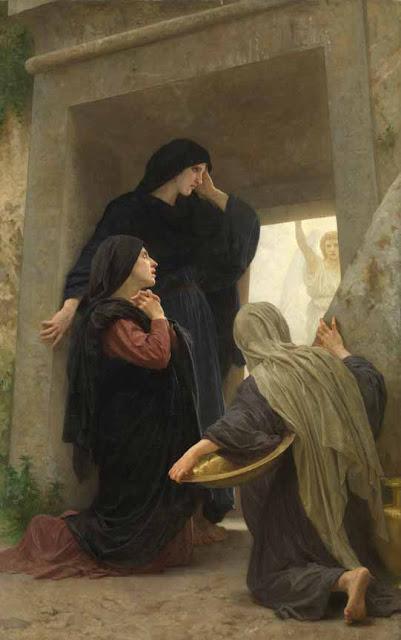 Адольф Вильям Бугро - Молящиеся женщины у могилы