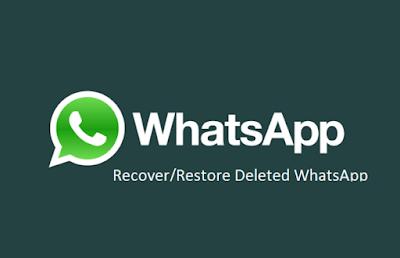 Cara Restore Pesan Whatsapp yang Telah Terhapus