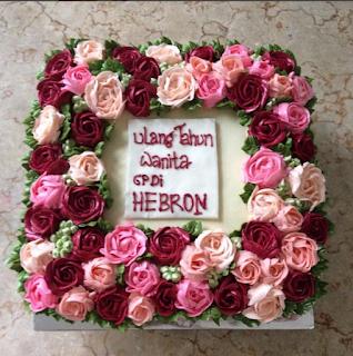 tart boquet ulang tahun