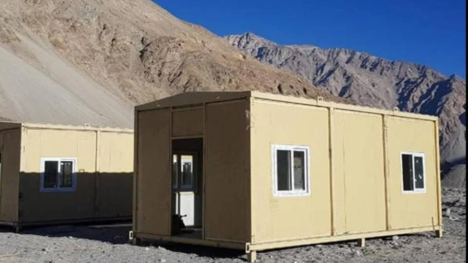 Army completes setting up of modern habitat for troops in Ladakh