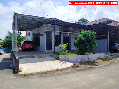 Jual Rumah Kota Pangkalpinang, Lengkap Garasi Luas, Lokasi Strategis, Kurniawan 081.932.057.899