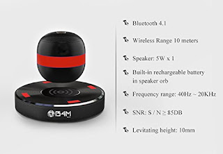 Bluetooth Speaker, Levitating Bluetooth Speaker, floating Bluetooth Speaker