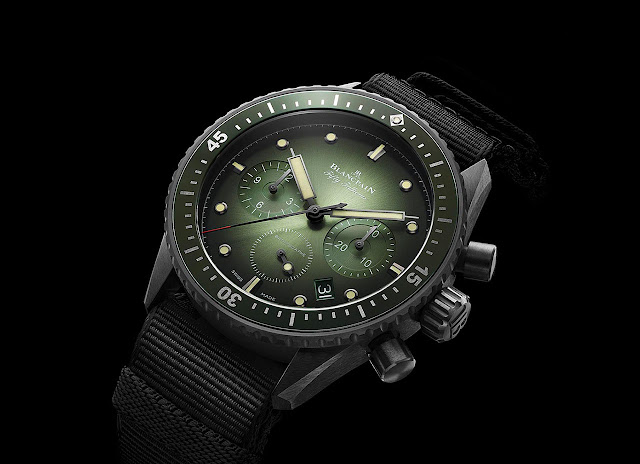 Blancpain Fifty Fathoms Bathyscaphe Chronographe Flyback Green