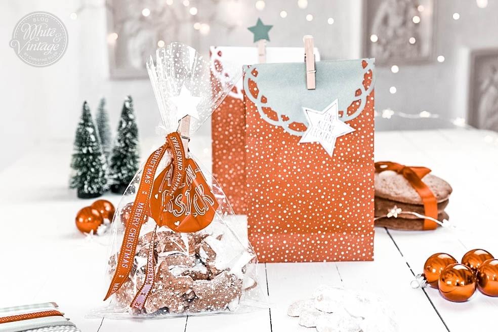 Weihnachtskekse hübsch verpacken