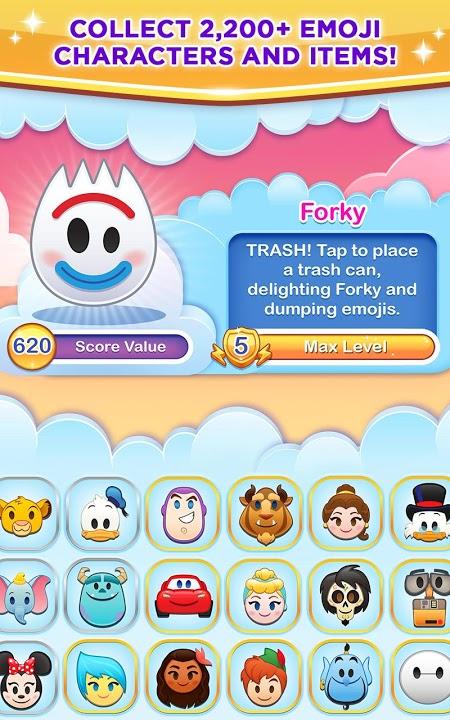 Disney Emoji Blitz v39.2.0 MOD, Unlimited Money - Game thu thập biểu tượng cho điện thoại