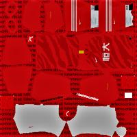 Guangzhou Evergrande 2020 Kits Dream League Soccer 2021