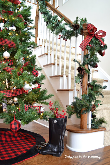 Christmas Home Tour - Calypso in the Country blog