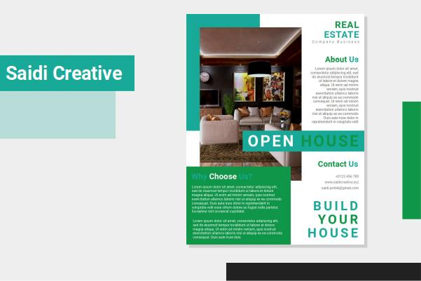 Free Download Real Estate Flyer Templates Word File Fully Editable