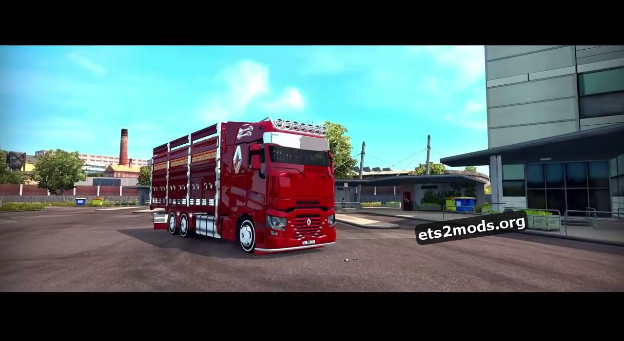 Truck - Renault T range 10 feet