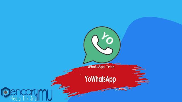 YoWhatsApp Apk Download (YoWA) Versi Terbaru 2021 Gratis