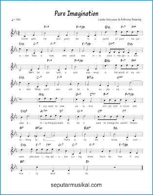 Pure Imagination chords jazz standar