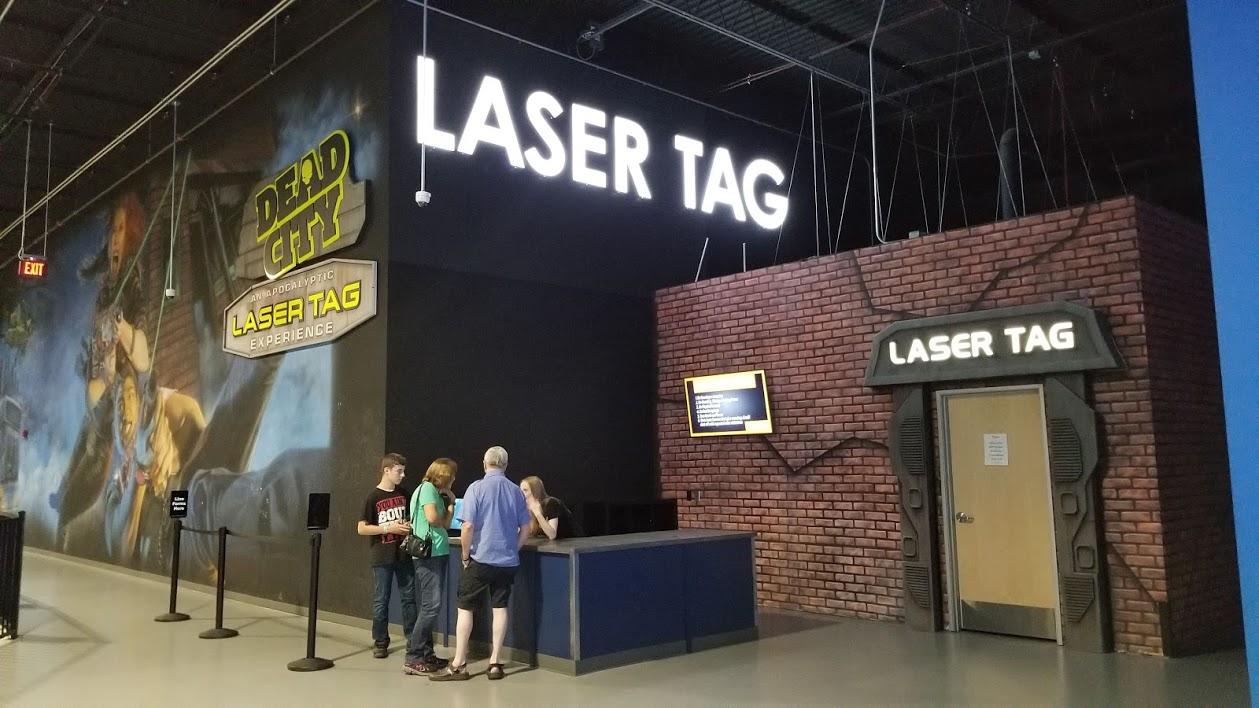laser tag, allegiant nonstop