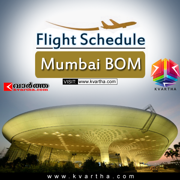 Flight Schedule -Mumbai BOM