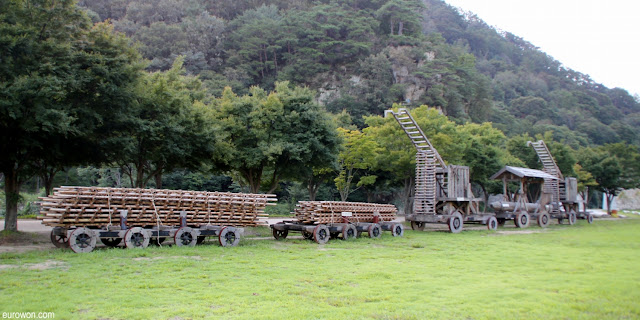 Máquinas de guerra para grabar dramas coreanos