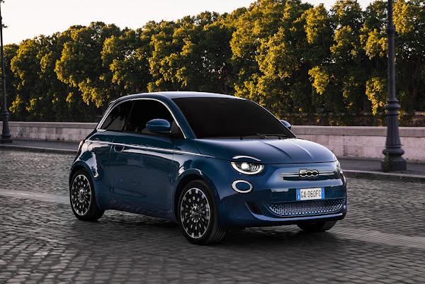 Fiat New 500  - finalista carro do ano 2021 - Europa