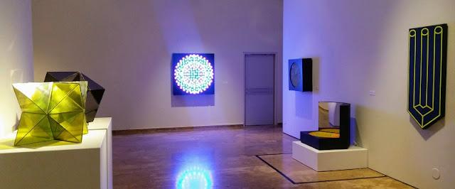 """Vista de la exposición """"Antes del arte. Cincuenta años después"""". Centre Cultural La Nau, Valencia"""