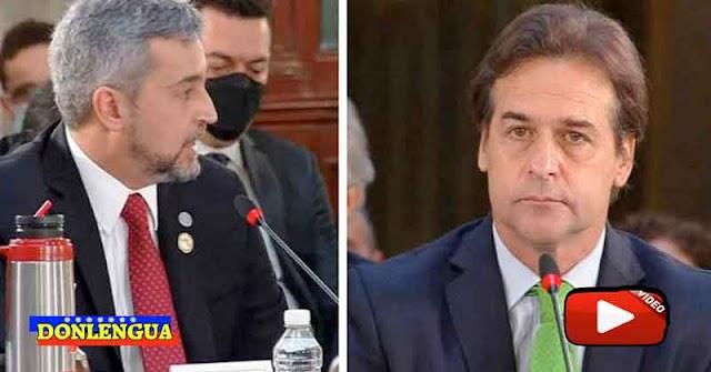Presidentes de Paraguay y Uruguay barrieron el piso con Maduro en la Cumbre Absurda de México