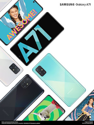 SAMSUNG Galaxy A71, now available nationwide