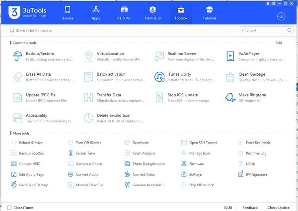 Download 3uTools - Cài đặt 3uTools mới nhất để quản lý iPhone, iPad e