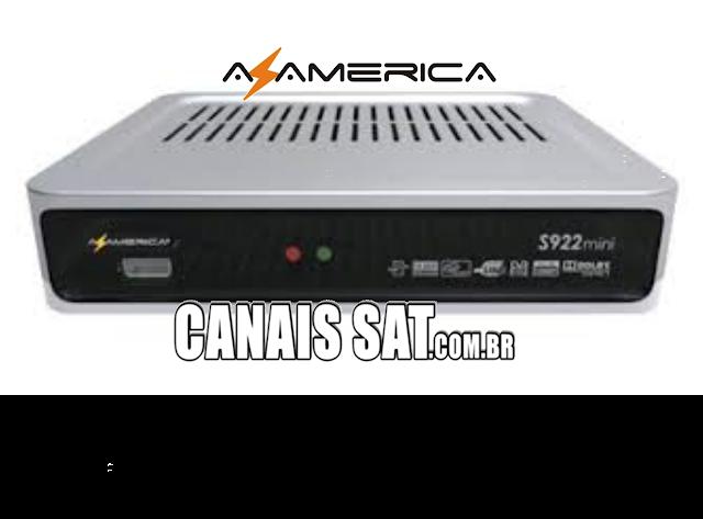 Azamerica S922 Mini Nova Atualização Modificada - 30/05/2020