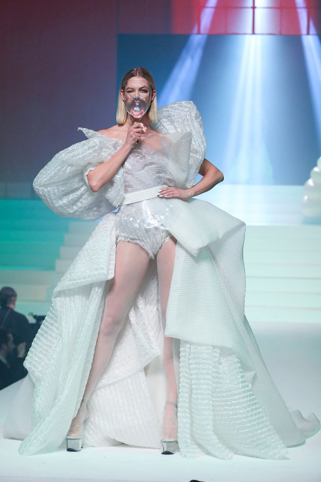 Karlie Kloss for Jean Paul Gaultier Paris Fashion Show