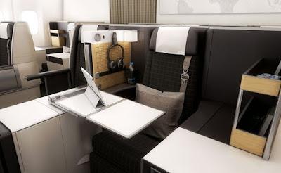 Foto Interior Pesawat Garuda Terbesar