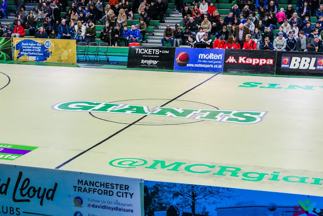 Manchester Giants Basketball Court