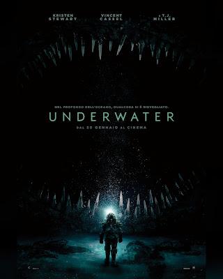 Póster película Underwater - 2020