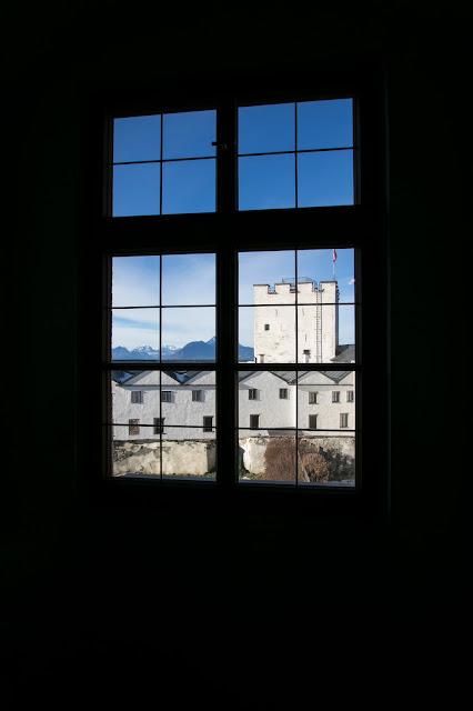 Cortile della Festung Hohensalzburg (fortezza)-Salisburgo