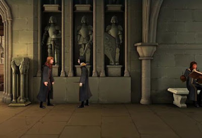 Energy Point Locations, Harry Potter, Hogwarts Mystery, West Basement