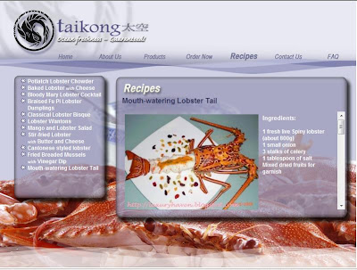 lobster bisque recipe featured at tai kong seafood