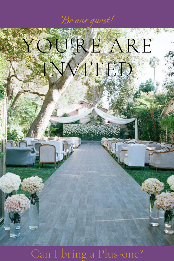 Wedding Etiquette - RSVP: When a Guest Asks For A Plus One