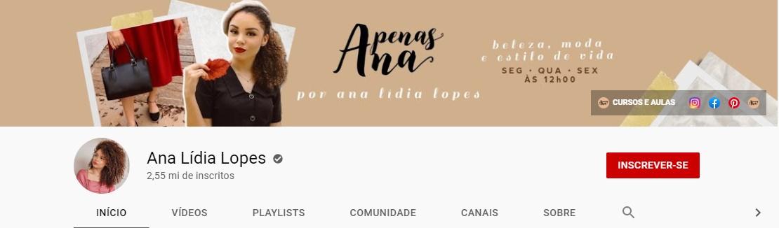 Apenas Ana | Youtube