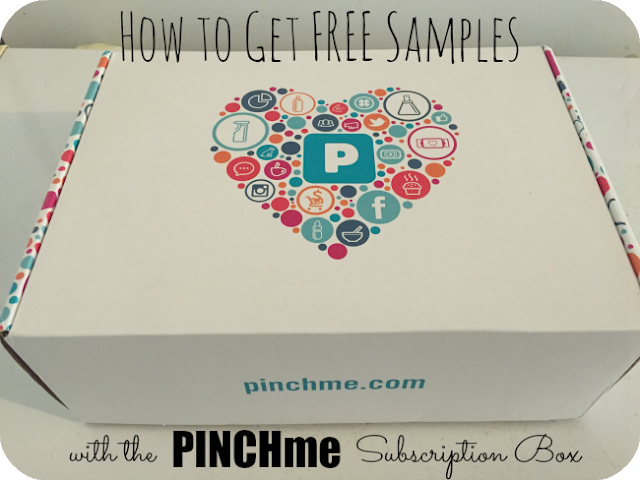 How to Get FREE Samples with the PINCHme Subscription Box