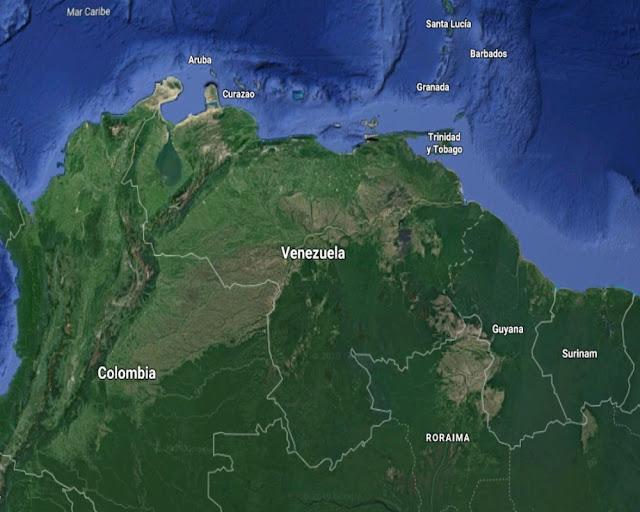 Mapa Satelital de Venezuela